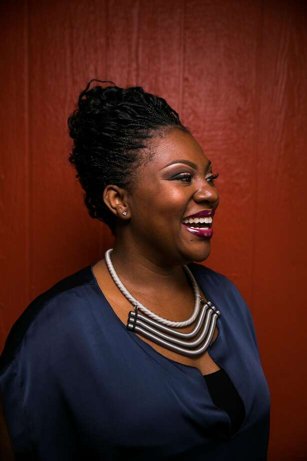 Reign Free, owner of Red Door Catering in Oakland. Photo: Mason Trinca, Special To The Chronicle