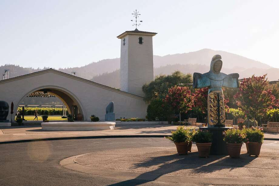 Robert Mondavi Winery in Oakville, which has trademarked the name To Kalon Vineyard. Photo: Mason Trinca, Special To The Chronicle