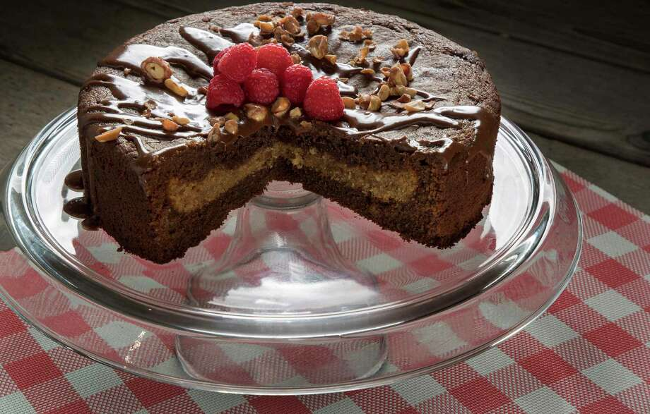 This Summer Vacation Piecaken combines classic flavors: peanut butter and chocolate. Photo: Jerry Holt, MBR / Minneapolis Star Tribune