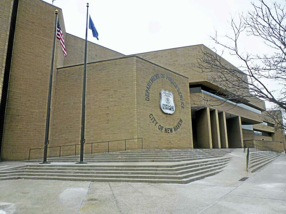 (Ryan Flynn - New Haven Register) Police headquarters at 1 Union Avenue in New Haven.