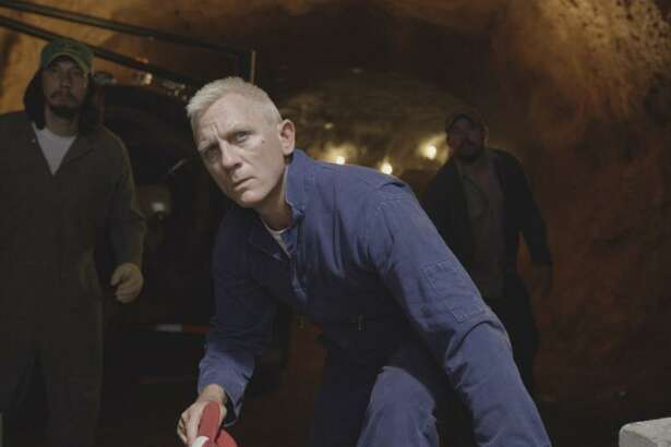 """Daniel Craig co-stars with Channing Tatum in the new Steven Soderbergh comedy, """"Logan Lucky."""""""