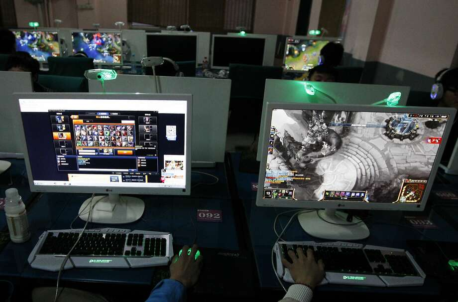 """A growing addiction to Internet games is fueling the creation of """"camps"""" to address the problem. Photo: Jie Zhao, Corbis Via Getty Images"""