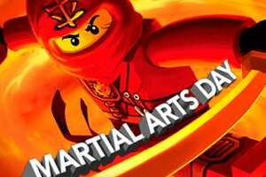 Martial Arts Day: Ninjago Celebration takes place Saturday, Aug. 19, at the Connecticut Science Center in Hartford.