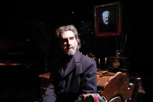 """Hershey Felder stars in """"Our Great Tchaikovsky"""" at Hartford Stage, Saturday, Aug. 19, through Sunday, Aug. 27."""
