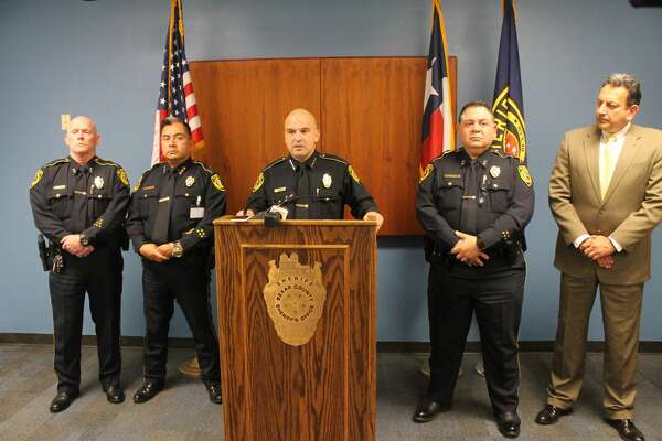 The Bexar County Sheriff's Office held a press conference about a hazing incident involving seven Community Emergency Response Team members that resulted in a criminal and administrative investigation.