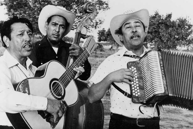"""A norte�o """"conjunto,"""" or 'ensemble,' in a scene from Les Blank's 1976 documentary """"Chulas Fronteras"""" (or """"Beautiful Borderlands"""")."""