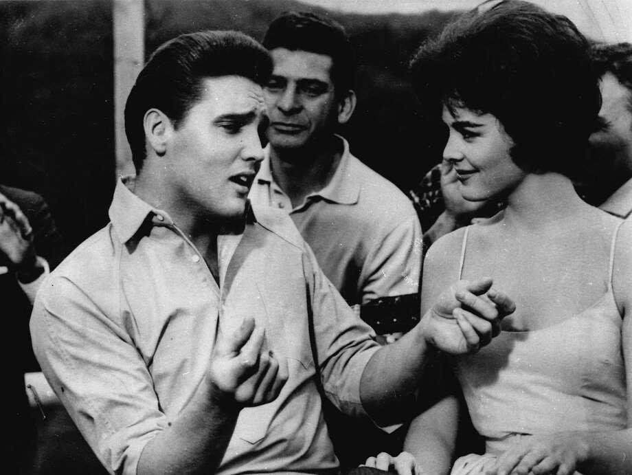 """Elvis Presley stars as Walter Gulick in """"Kid Galahad."""" Photo: AP"""