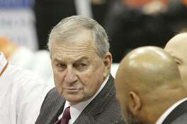 Former UConn coach Jim Calhoun is contemplating a return to the sidelines.