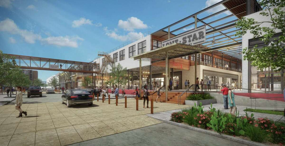 A partnership between Aqualand Development of San Marcos and national retail developer CBL & Associates Properties planned to rehabilitate the brewery with a park, a boutique hotel, hundreds of apartments, 105,000 square feet of office space and 271,000 square feet of retail, including a Cinemark movie theater and a bowling alley.