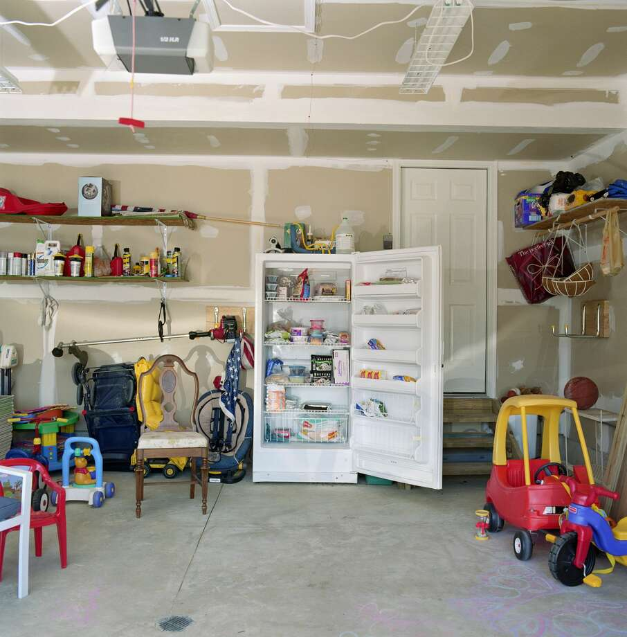 """A messy garage with a refrigerator in it.""— mistaken4bacon  Photo: Andrew Hetherington/Getty Images"