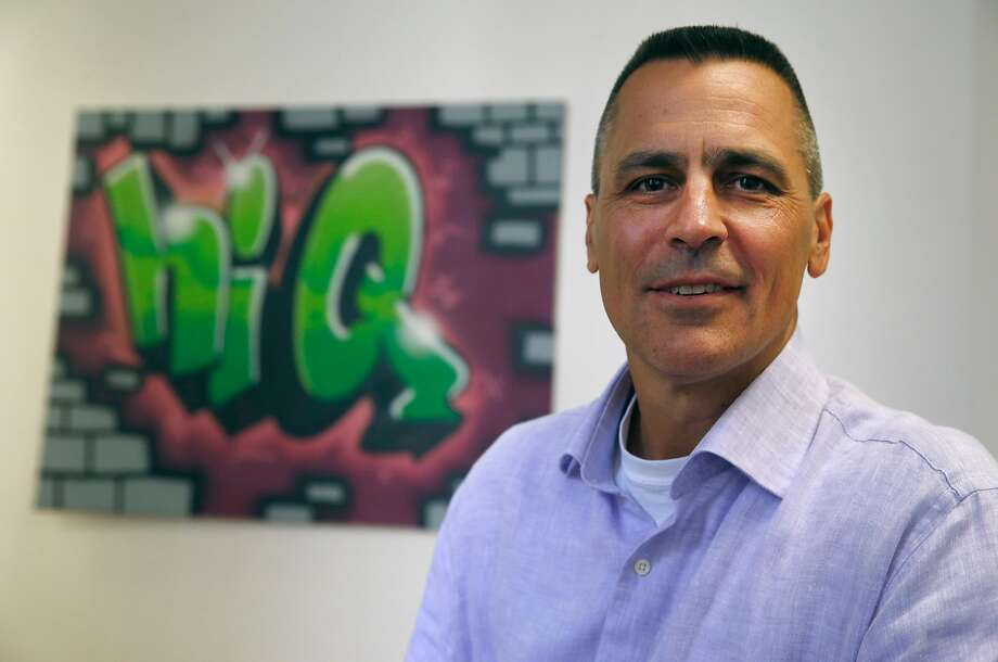 Mark Weidick, CEO of data analytic startup HiQ, is seen the company's office in San Francisco. HiQ is in a legal dispute with LinkedIn, which is accusing HiQ of improperly using data from its site. Photo: Paul Chinn, The Chronicle