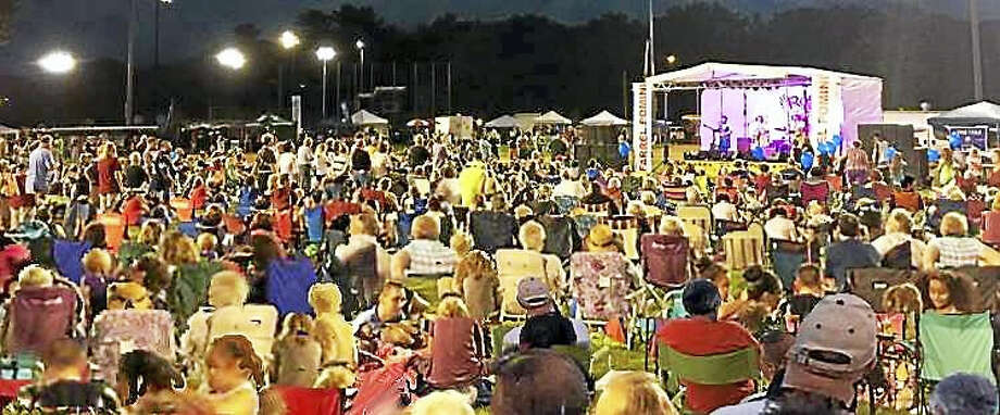Crowds turn out for the annual Rock the Valley festival in Ansonia. Photo: CONTRIBUTED PHOTO / STEVE DIRIENZO