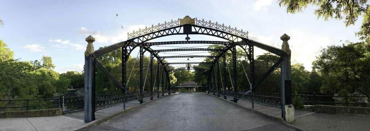 The Brackenridge Park Bridge was built in 1890.