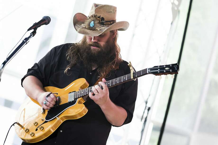 "Chris Stapleton performs on NBC's ""Today"" show at Rockefeller Plaza on Tuesday, July 18, 2017, in New York. (Photo by Charles Sykes/Invision/AP) Photo: Charles Sykes, Associated Press"