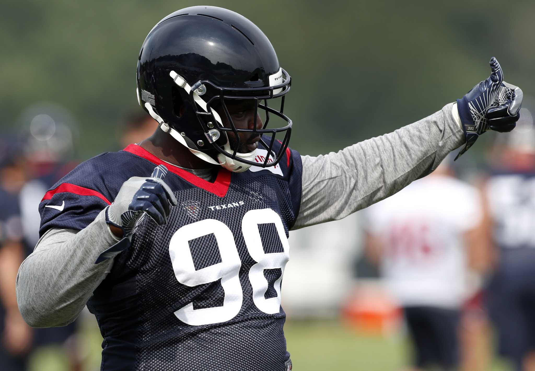 outlet store c46e5 02955 Winning, not Pro Bowls, consumes Texans' D.J. Reader ...