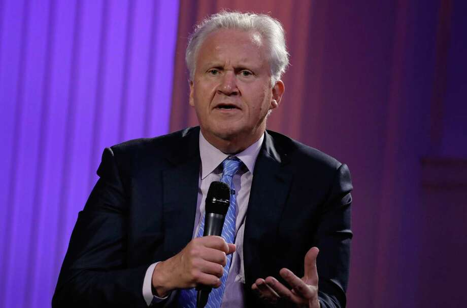 Jeffrey Immelt, chief executive officer of General Electric Co. (GE), speaks during an event at the Economic Club of New York in New York, U.S., on Thursday, June 22, 2017. Last week, Immelt announced he would step down as CEO on Aug. 1. Immelt's successor, John Flannery, said he plans to review the General Electric Co. empire he's inheriting, fueling speculation that the $240 billion company is headed for a major slimdown. Photographer: Peter Foley/Bloomberg ORG XMIT: 700071305 Photo: Peter Foley / © 2017 Bloomberg Finance LP