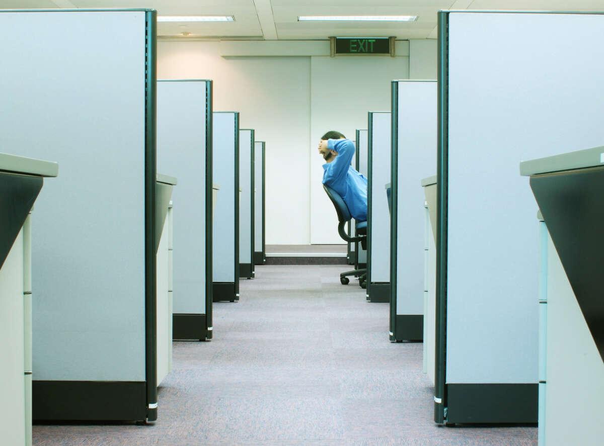 Fotolia photo --cubicles - office series 2 Â jaymast #75928 office worker working