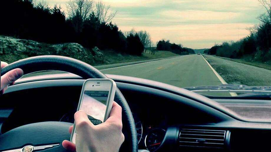 Fines for using a mobile phone while behind the wheel are $150 for the first offense, $300 for the second and $500 for three or more offenses. On Monday, Aug. 14, 2017, Stamford police issued more than 50 tickets to distracted drivers using cell phones while driving. Photo: Thomas Wuennemann /via Stamford Police On Facebook