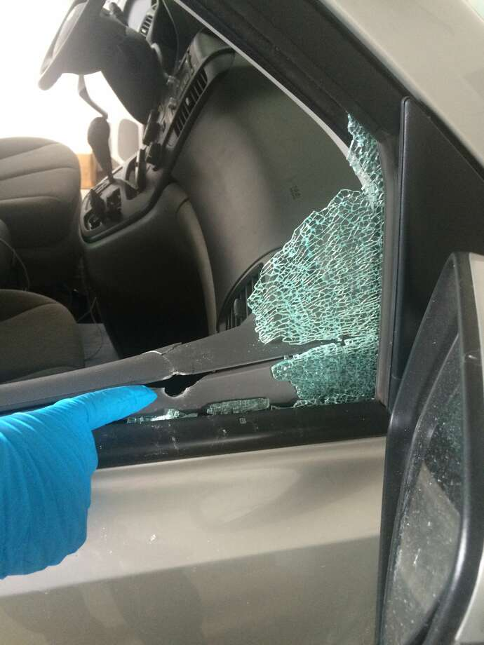 Photos: Cars, yards riddled with bullets in Hudson - Times Union