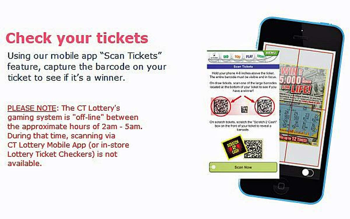 CT Lottery says its mobile app