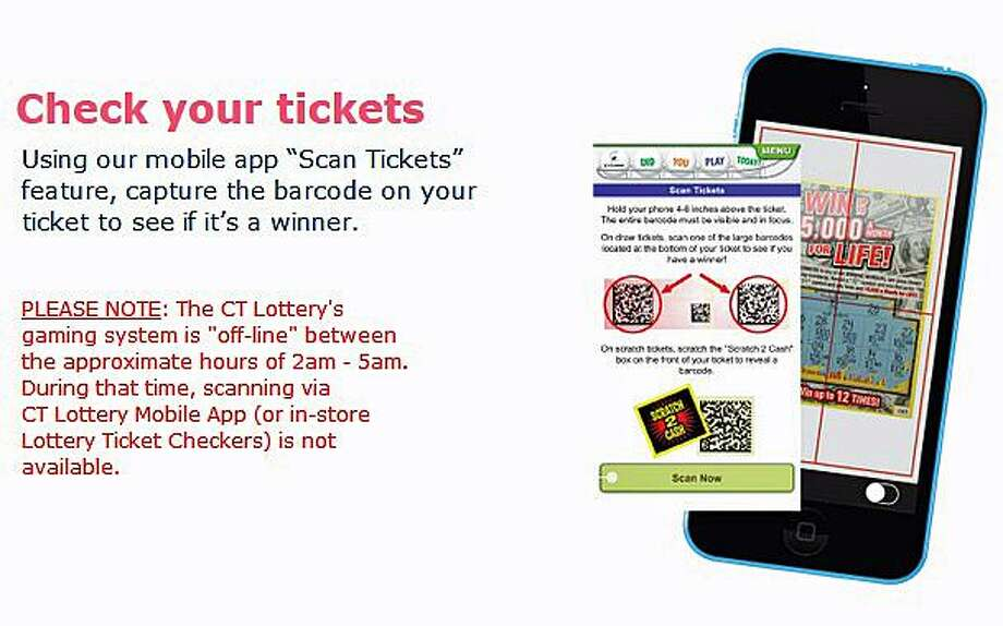 Lottery: Mobile app misread winning tickets as losers