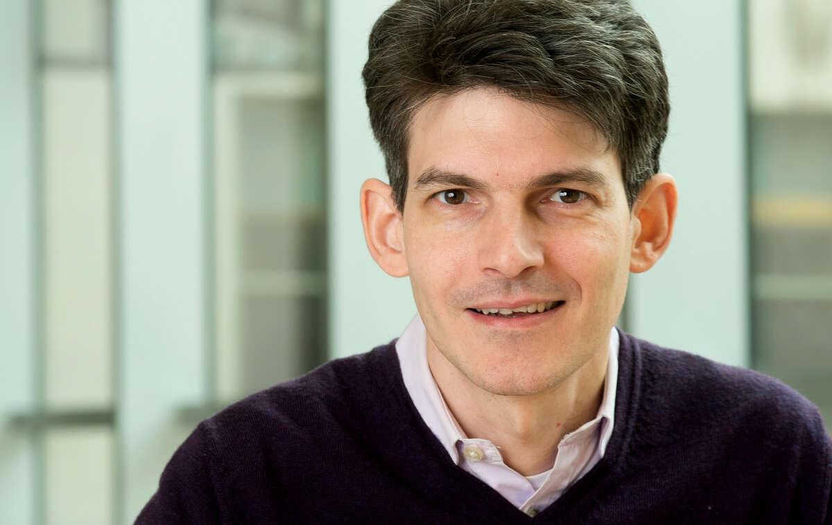 Luciano Marraffini, Ph.D., associate professor, Laboratory of Bacteriology, The Rockefeller University, New York City. (Mario Morgado)