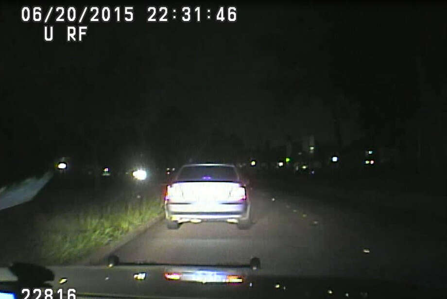 Harris County Sheriff's Office dashcam video shows two deputies conduct a traffic stop and body cavity search of Charneshia Corley, a 23-year-old black woman, in June 2015. Corley has filed a civil rights lawsuit against the sheriff's department, claiming the roadside search violated her civil rights. Photo: Courtesy Sam Cammack
