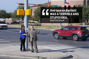 """Martha Book: """"One lane on Bartlett WAS A TERRIBLE AND STUPID IDEA."""""""