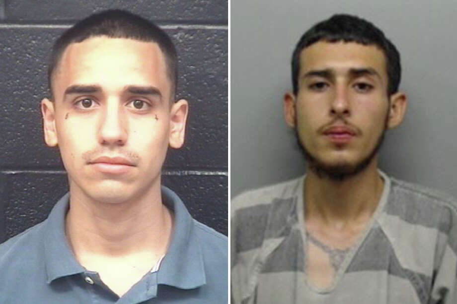 Bryan Alexander Saldivar, 22, and Noe Cristobal Rodriguez, 20, were charged with felony theft. Photo: Webb County Sheriff's Office