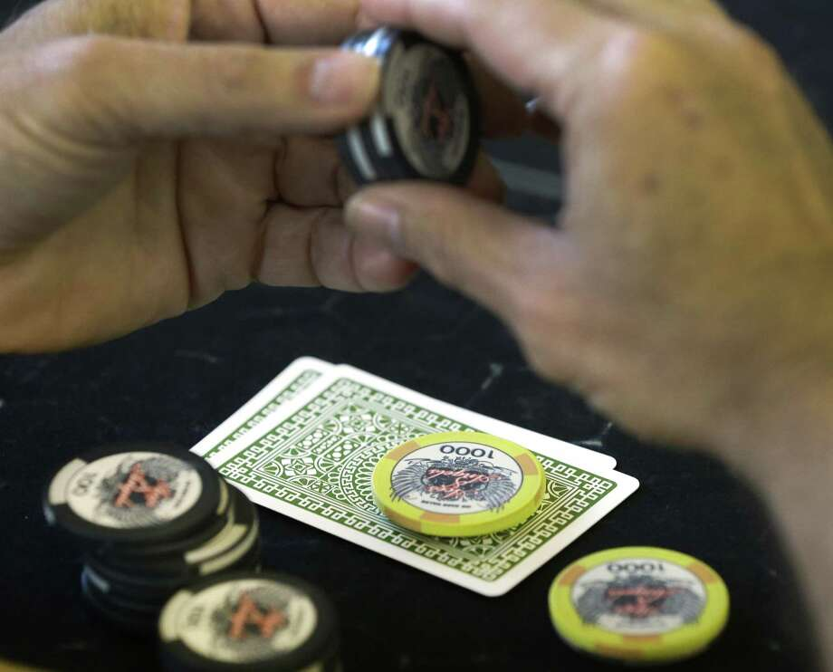 Texas entrepreneurs believe they have found a way to conduct legal gambling on poker — restricted private clubs such as Mint Poker. Photo: Melissa Phillip /Houston Chronicle / © 2017 Houston Chronicle