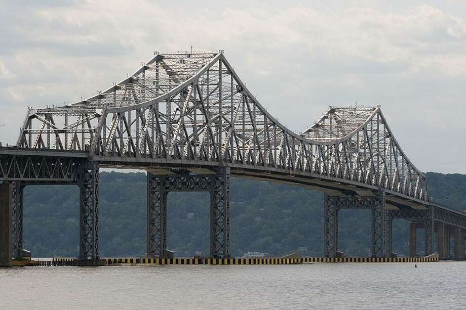 The original Tappan Zee Bridge spanning the Hudson River. Photo: Contributed Photo / Greenwich Time Contributed