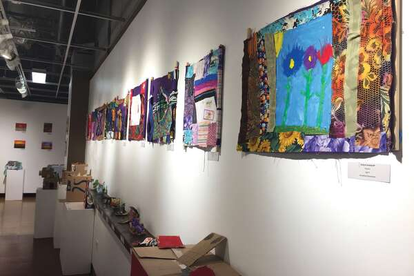 Masterpiece Monday projects, produced by participants in Edwardsville District 7's Summer Zone, are currently on display at the Edwardsville Arts Center, located inside Edwardsville High School.