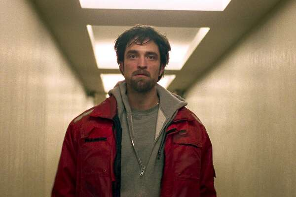 """In the crime drama """"Good Time,"""" lowlife criminal Connie (Robert Pattinson) tries to rescue his jailed brother after their bank robbery goes south.  Photo: A24"""