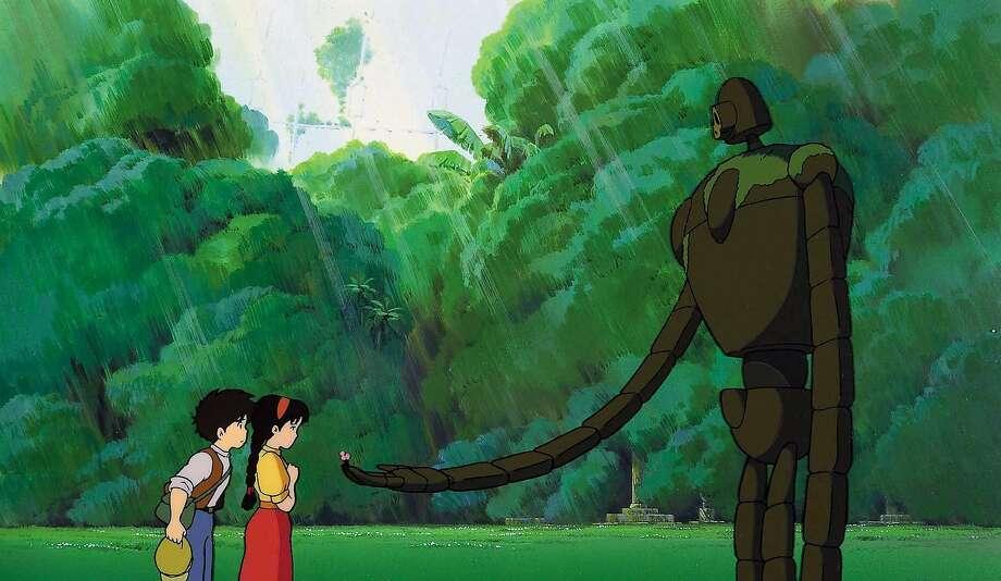 "Hayao Miyazaki's ""Castle in the Sky"" in celebrated as an anime classic. Photo: Studio Ghibli/1986"