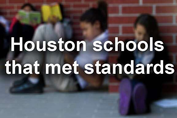 See the Houston schools that met state standards and avoided takeover...