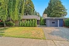 This updated, mid-century Modern home in Seward Park comes with Lake Washington views and a spacious floor plan. A newly-remodeled kitchen and opulent master bedroom with five-piece bathroom is a plus, but air conditioning and smart home features make this a win.   5900 Wilson Ave. S., listed for $1,050,000. See  the full listing here .