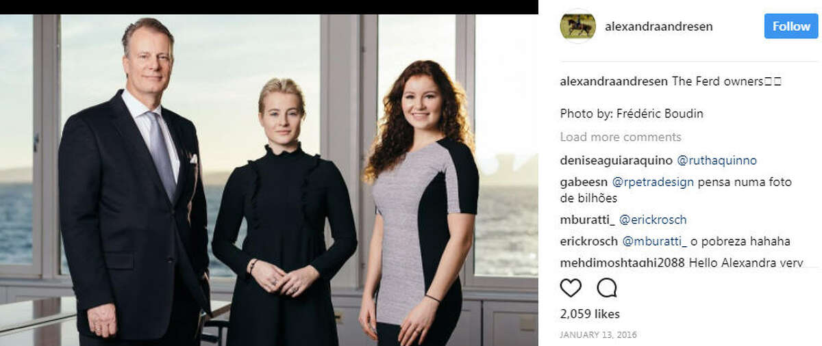 ALEXANDRA ANDRESEN Age: 20 Net Worth $1.2 billion Source of wealth: Investments Alexandra Andresen Instagram >>Here are the youngest 2017 billionaires in the world...