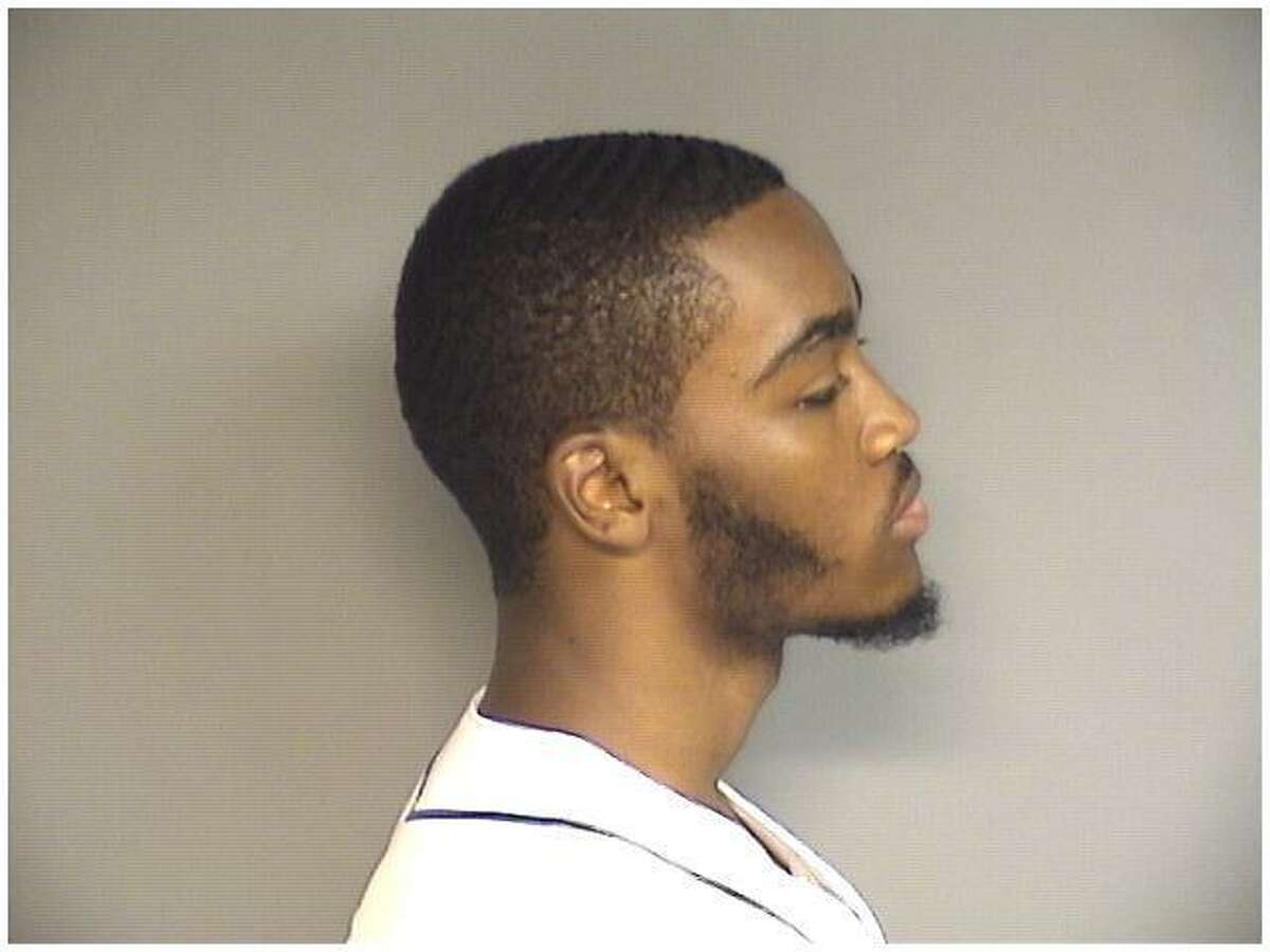 Victor Cruz, 21, of Stamford, was charged with stashing a pistol before going to see his probation officer at the Stamford courthouse on Friday afternoon.