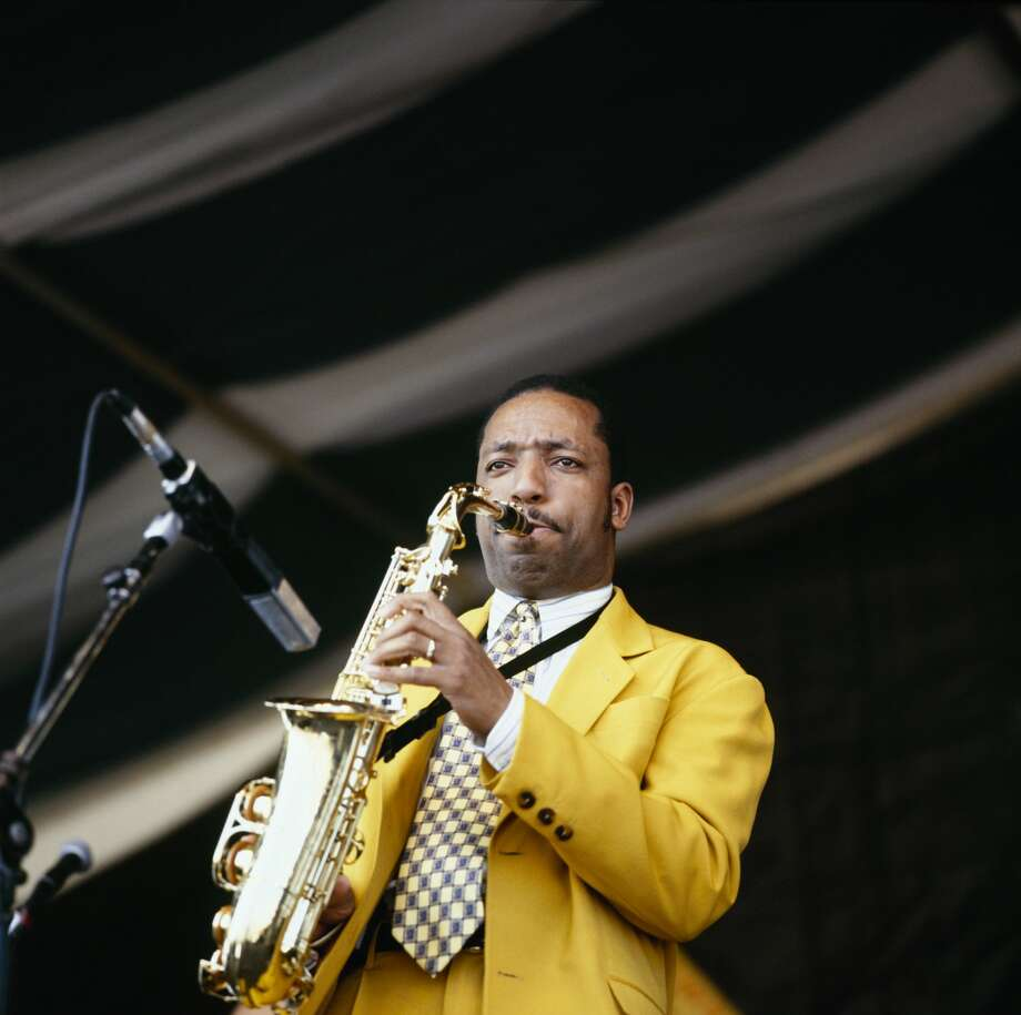 Donald Harrison, seen here performing at the 1996 New Orleans Jazz and Heritage Festival in New Orleans, left his saxophone in a San Francisco taxi cab Saturday night. Photo: David Redfern/Redferns