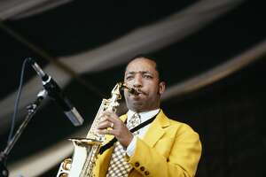Donald Harrison, seen here performing at the 1996 New Orleans Jazz and Heritage Festival in New Orleans, left his saxophone in a San Francisco taxi cab Saturday night.