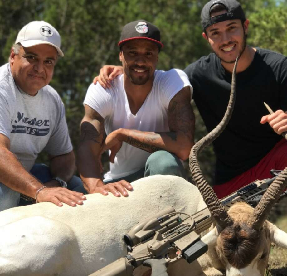 Former Spurs player George Hill bought a ranch in the Texas Hill Country in 2017. Photo: Courtesy, David Garcia