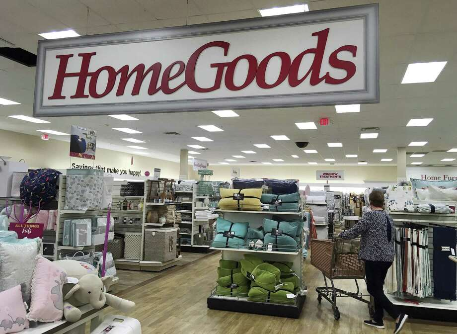 A shopper pushes a cart inside a HomeGoods store, in Salem, N.H. on Tuesday. Retail sales advanced 0.6 percent last month, the best showing since a gain of 0.9 percent last December, the Commerce Department reported Tuesday Photo: Elise Amendola /Associated Press / Copyright 2017 The Associated Press. All rights reserved.