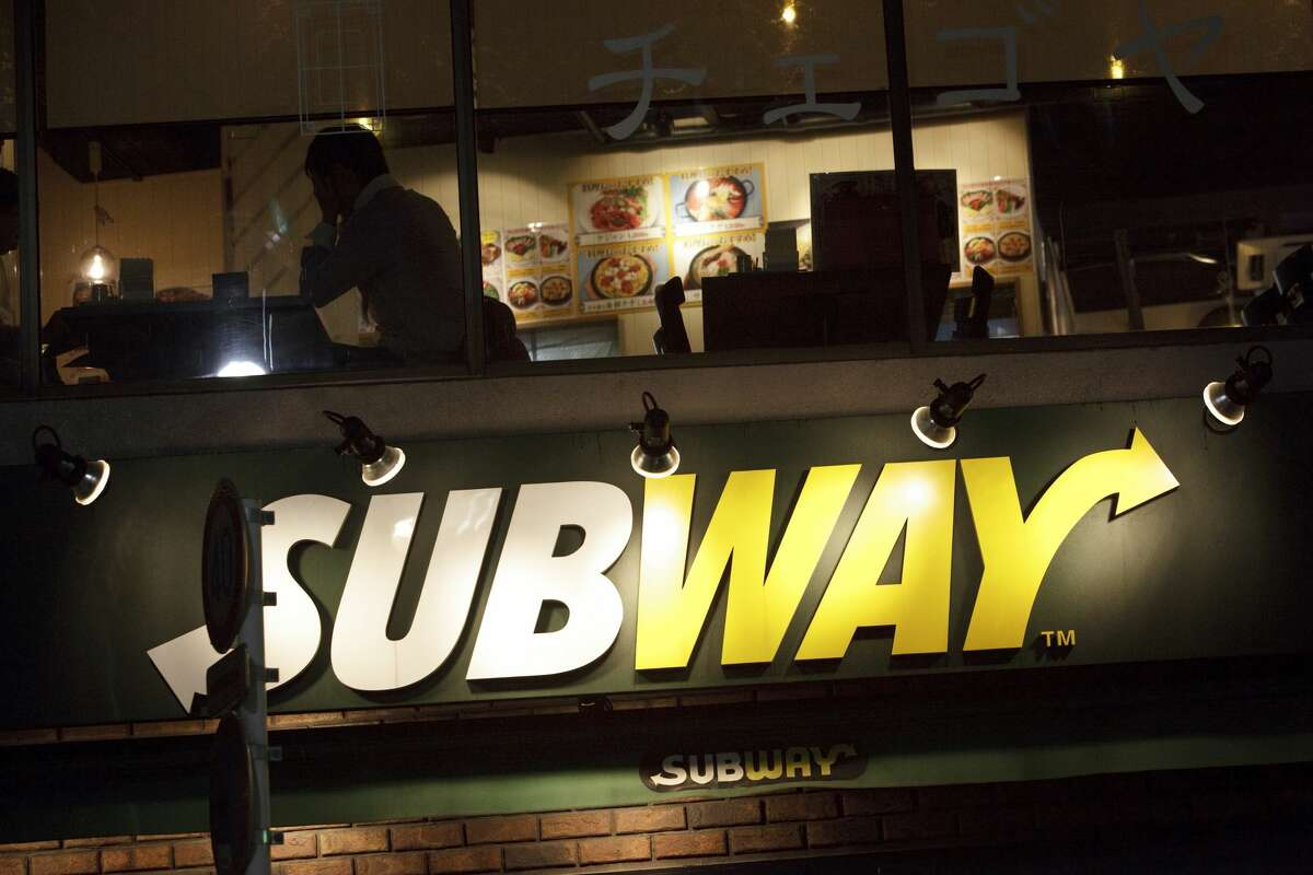 A Subway sandwich shop in tokyo. (Photo by James Leynse/Corbis via Getty Images)