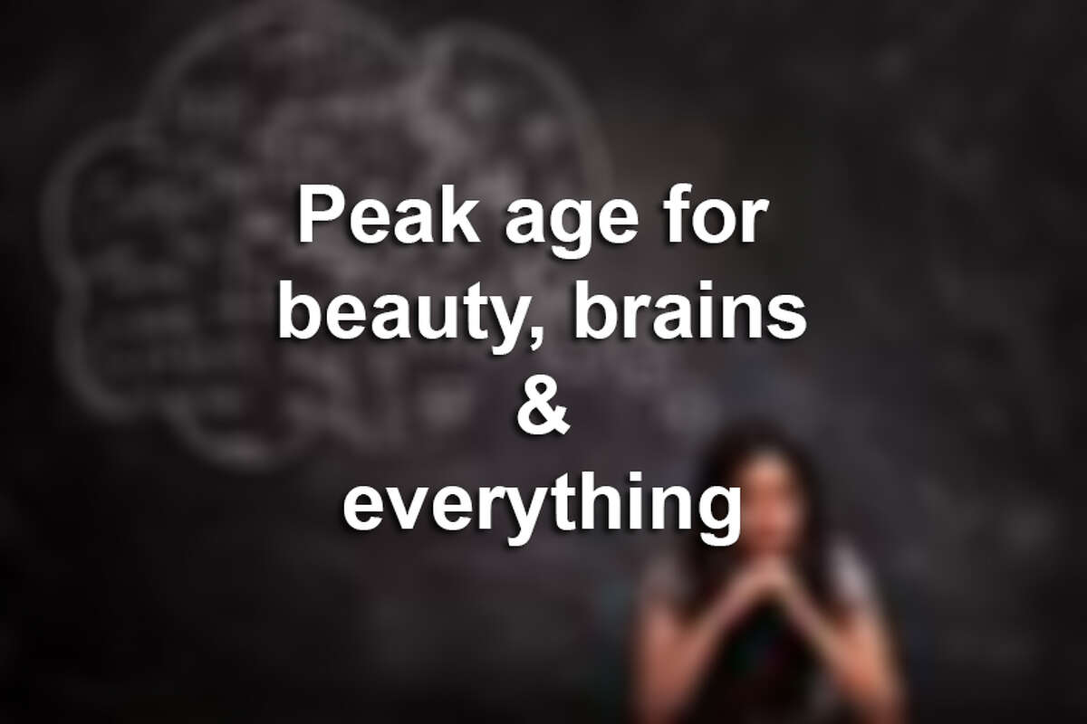 Keep clicking to see the peak age for creativity, attraction, salary, loneliness and more.