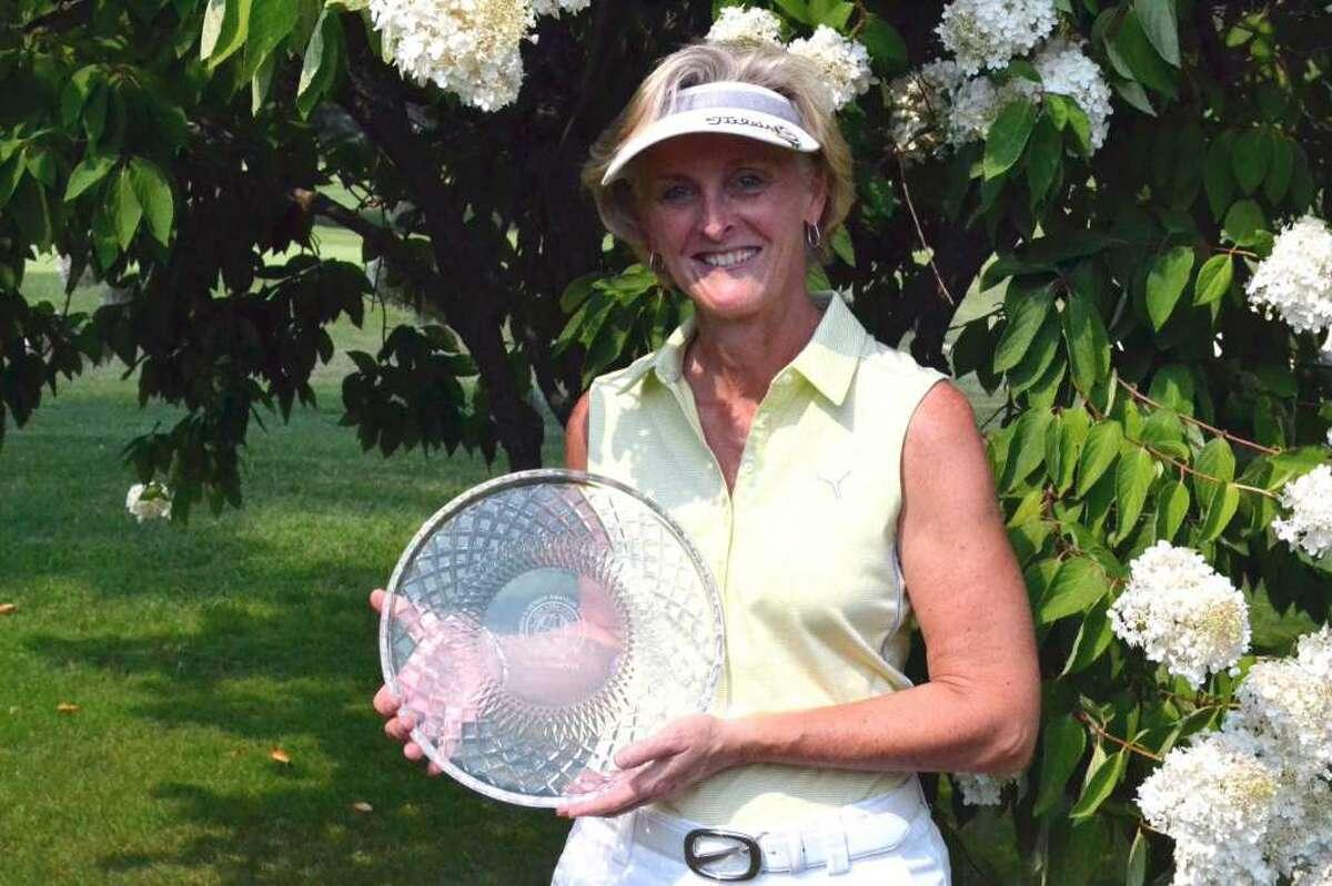 State Women's Senior Amateur 2013 winner Sue Kahler of Ballston Spa (Ranelle Graber/NYSGA)