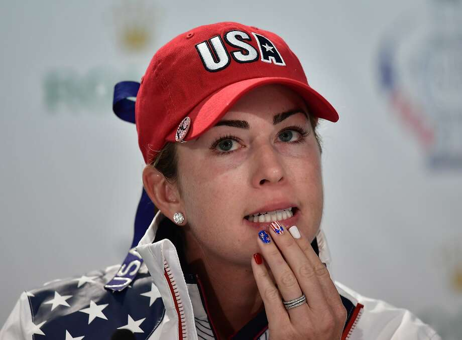 Paula Creamer is 14-8-5 in the Solheim Cup, with winning records in four-ball, foursome and singles competition. Photo: Stuart Franklin, Getty Images