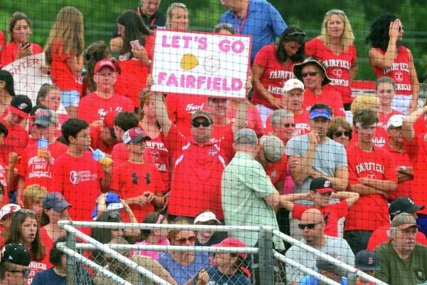 """Fans of Fairfield American have offered great support this summer. """"We call them the 'Red Tsunami,'"""" Fairfield American manager Mike Randazzo said. """"They used to be called the 'Red Sea' but as the season and summer went on, it just kept growing. They come in waves to get to our games. You saw what happened, there were thousands of people supporting us."""""""