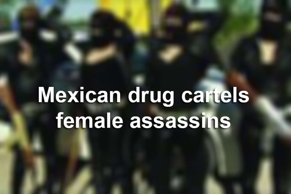 Keep clicking to see the female assassins leading Mexican drug cartels.