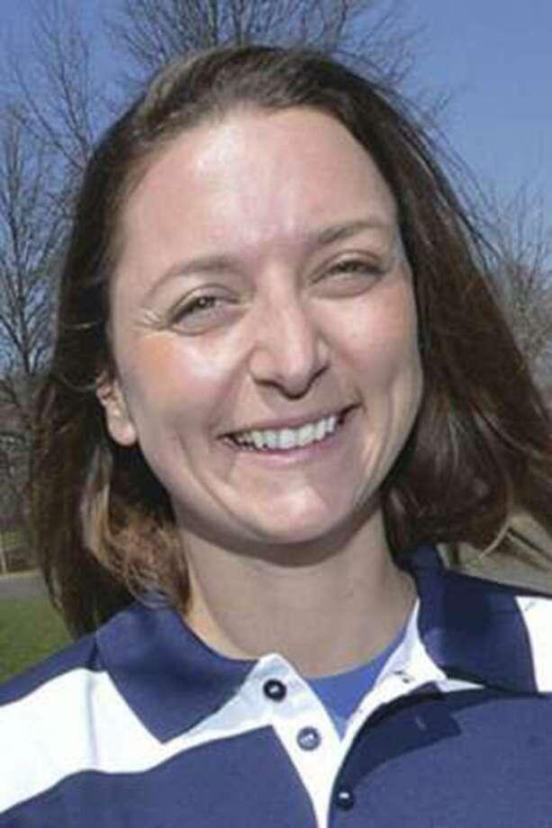 GFA girls soccer coach Freya Coombe. Photo: Alex Von Kleydorff / Hearst Connecticut Media / Norwalk Hour