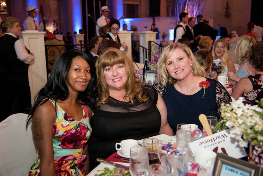 Were you Seen at the Saratoga WarHorse Blue Spangled Evening Gala at the Hall of Springs in Saratoga Springs on Aug. 14, 2017? Photo: Hannah Walsh